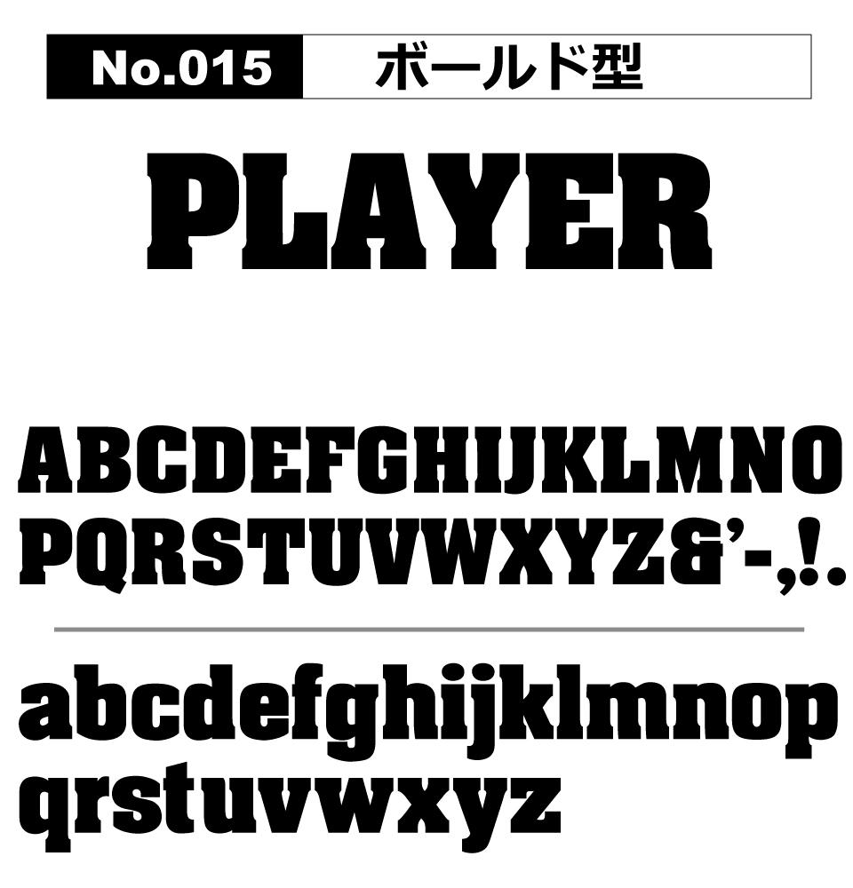 No.015 ボールド型