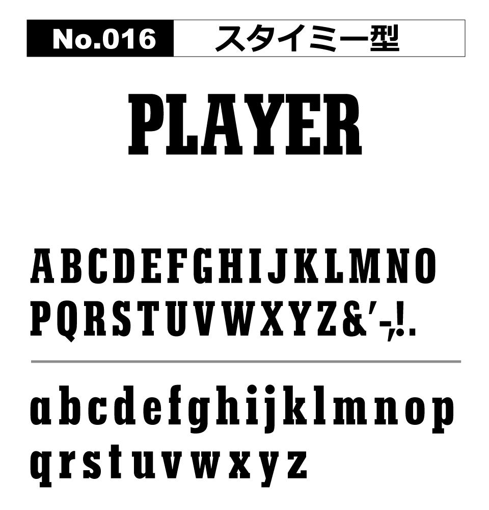 No.016 スタイミー型
