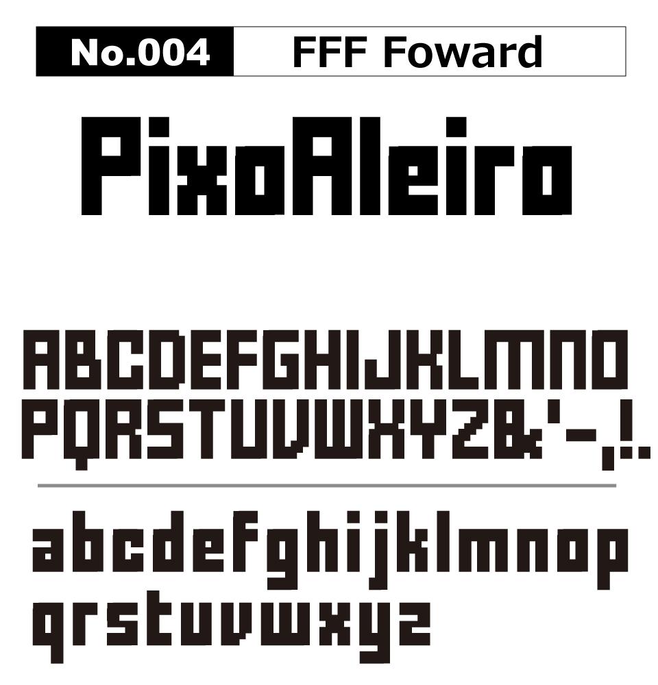 No.004 FFF Foward
