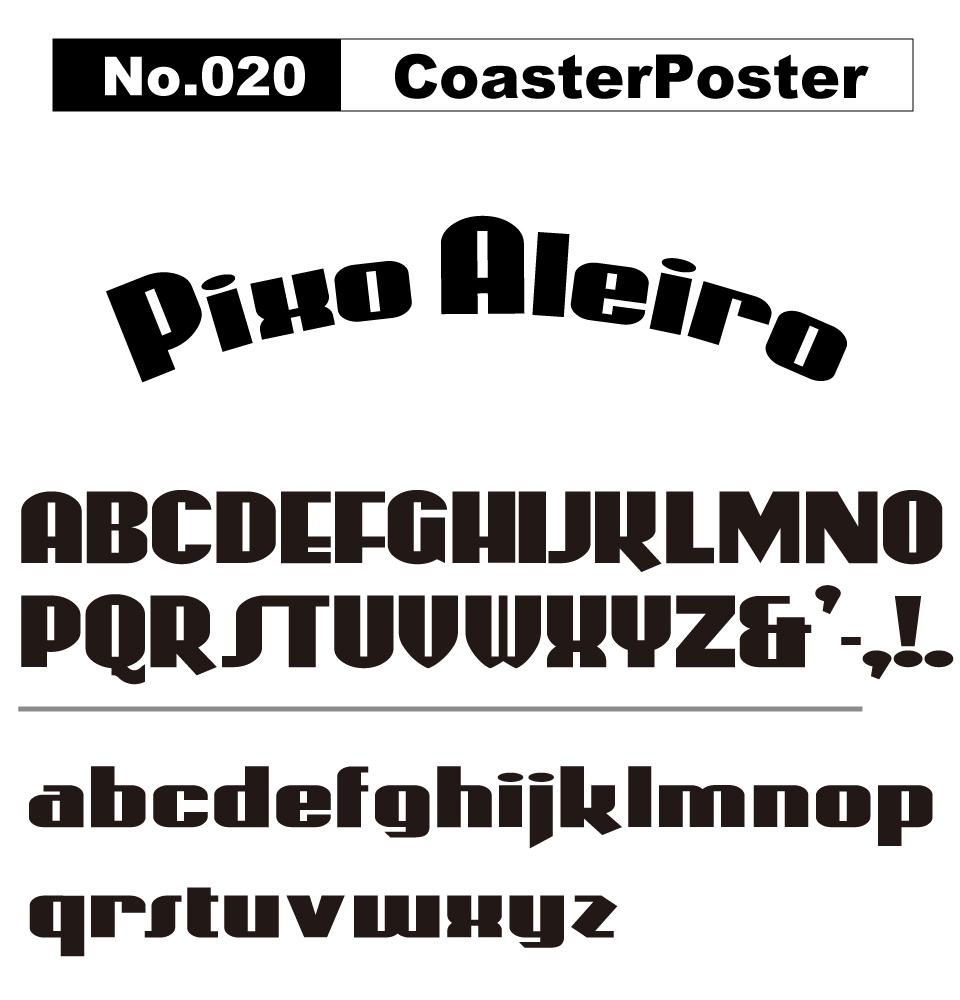 No.020 CoasterPoster
